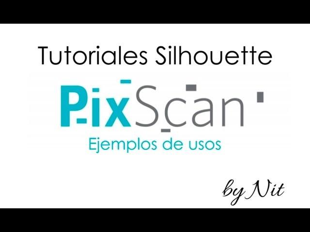 Tutorial usos de PixScan de Silhouette (Español)