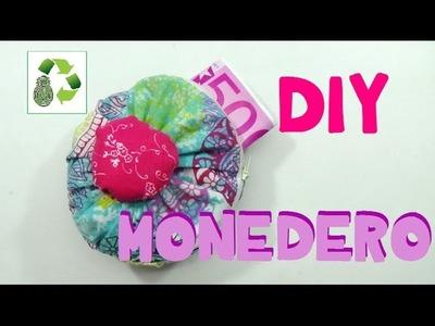 106. DIY MONEDERO (RECICLAJE DE TELA)