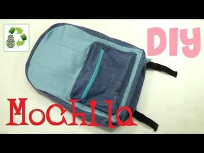 162. DIY MOCHILA (RECICLAJE DE PANTALONES VAQUEROS)