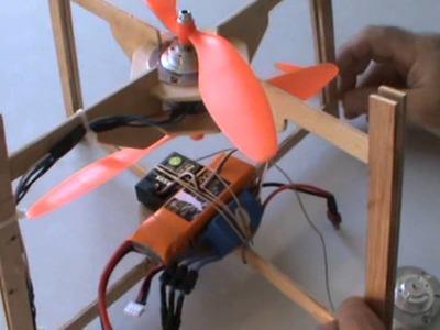 Arahal  Artilugio volador con motores brushless sacados de dos discos duros  Ramos