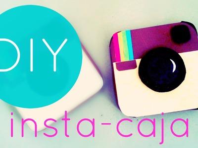 Caja en forma de cámara ❤ caja instagram ❤ Detalles para regalar