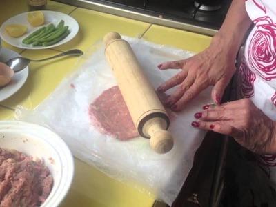 Como baje de peso - Receta de bistec de carne molida y ejotes al romero con limón
