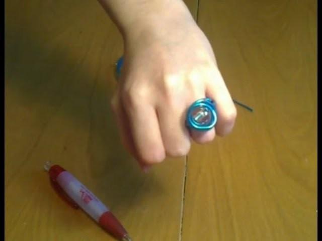Cómo hacer un anillo de alambre con una bola | facilisimo.com