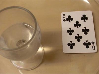 Cómo hacer una apuesta que nunca perderemos con una bebida y una carta - Chindas12