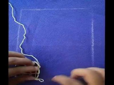 Crochet irlandes -Tutorial  Redes - 1° Práctica