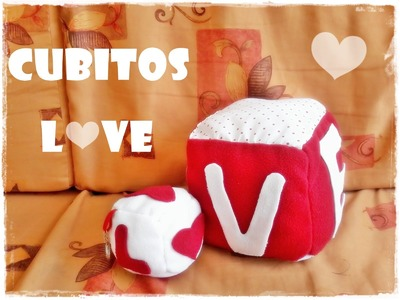 ♥Cubitos Love ♥Regalito para San Valentin ♥♥♥