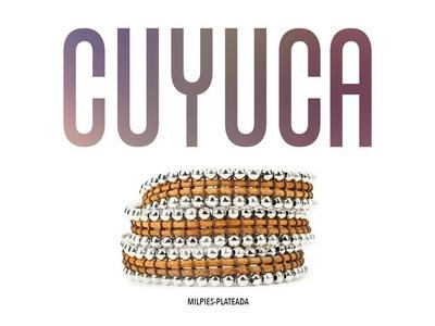 CUYUCA - PULSERA MILPIES-PLATEADA