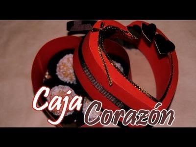 DIY: Caja Con Forma De Corazón Para San Valentin - Brotes De Creatividad