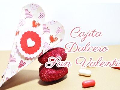DIY : Caja Corazón. Dulcero [San Valentín] - Brotes De Creatividad