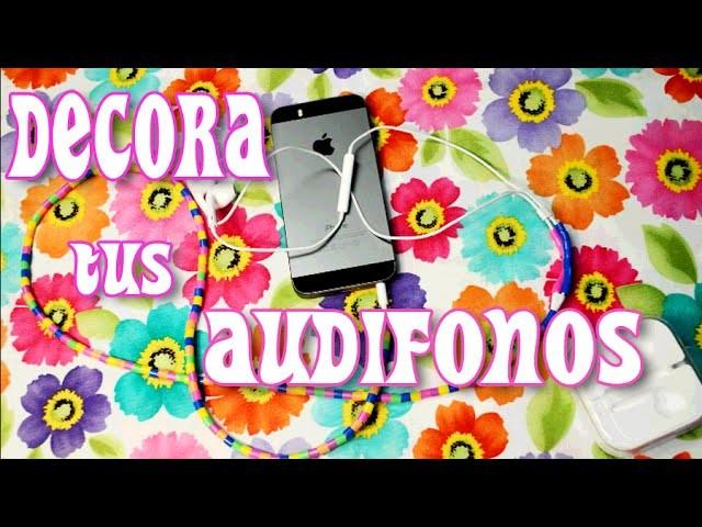 DIY - ♥ Crea tus accesorios ♥ : Decora tus Audifonos ♥