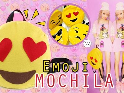 DIY: Mochila Emoji |  REGRESO A CLASES