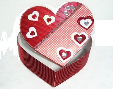 Episodio 31 Cajita de papel corrugado para San Valentín