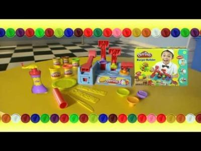 La hamburguesería y la pastelería de Play Doh en www.elosito.com