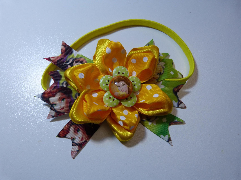 Moños y flores en cinta para decoracion del cabello niñas. accessories for girls tapes