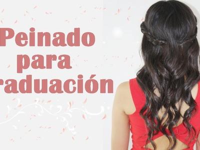 Peinado para tu graduación