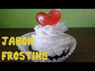 Receta de jabón frosting casero - Ole Arte Manualidades