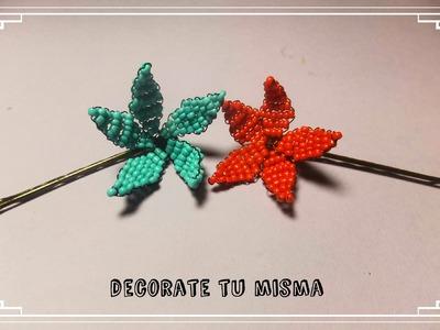 Rosas de alambre para decorar ganchos  DIY