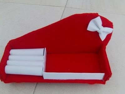 Tutorial sofa joyero de carton muy facil
