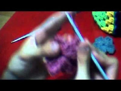 Aprenda A Tejer Un Rosa En #Crochet [Como Hacer Una Flor De Crochet]
