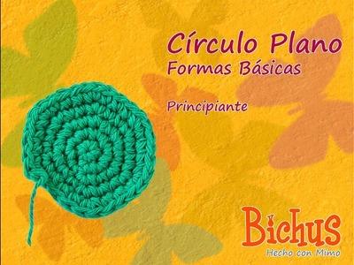 Bichus - Amigurumis Formas Planas - Círculo
