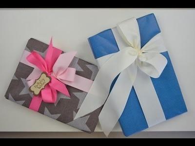 Cómo envolver regalos sin adhesivos