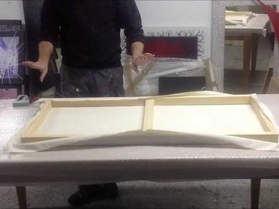 Como hacer un lienzo