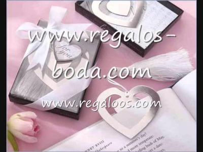 Detalles originales de bodas www.regalos-boda.com - www.regaloos.com