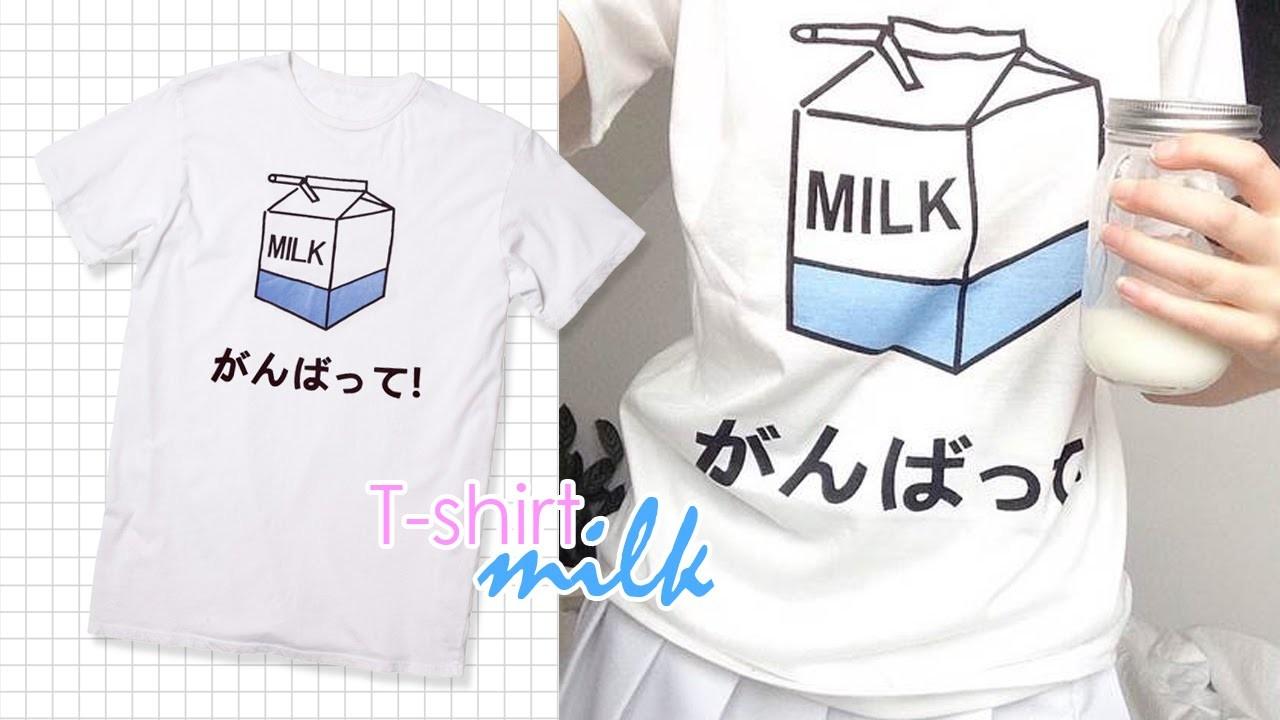 DIY: Camisa Leche | Milk T-shirt