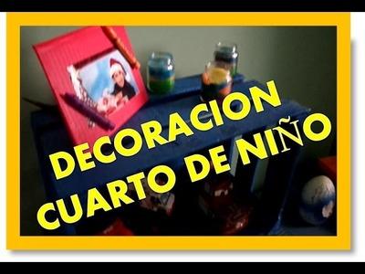 *DIY* decoracion para cuarto de niño (reciclando)