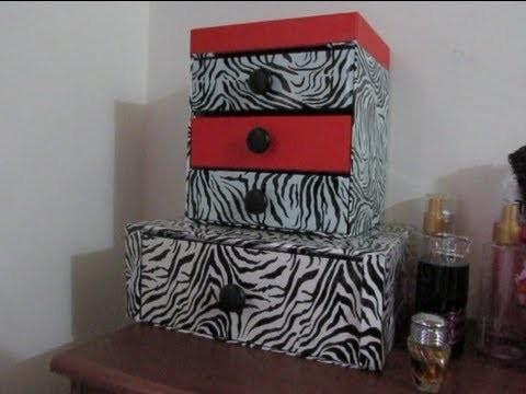 DIY Reciclando cajitas de Almabox!!!!