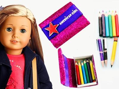 Haz lápices, lapiceros y lapiceras realistas para tu American Girl - Manualidades para muñecas