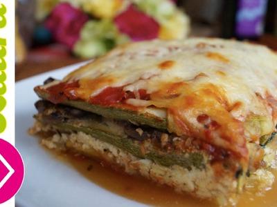Lasaña de Calabacitas ♥ Zuchinni Lasagna Recipe