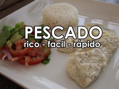 PESCADO mas RICO y FACIL que hay! -Receta en olla electica u horno