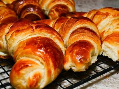 Receta de Croissant paso a paso - Croissant recipe