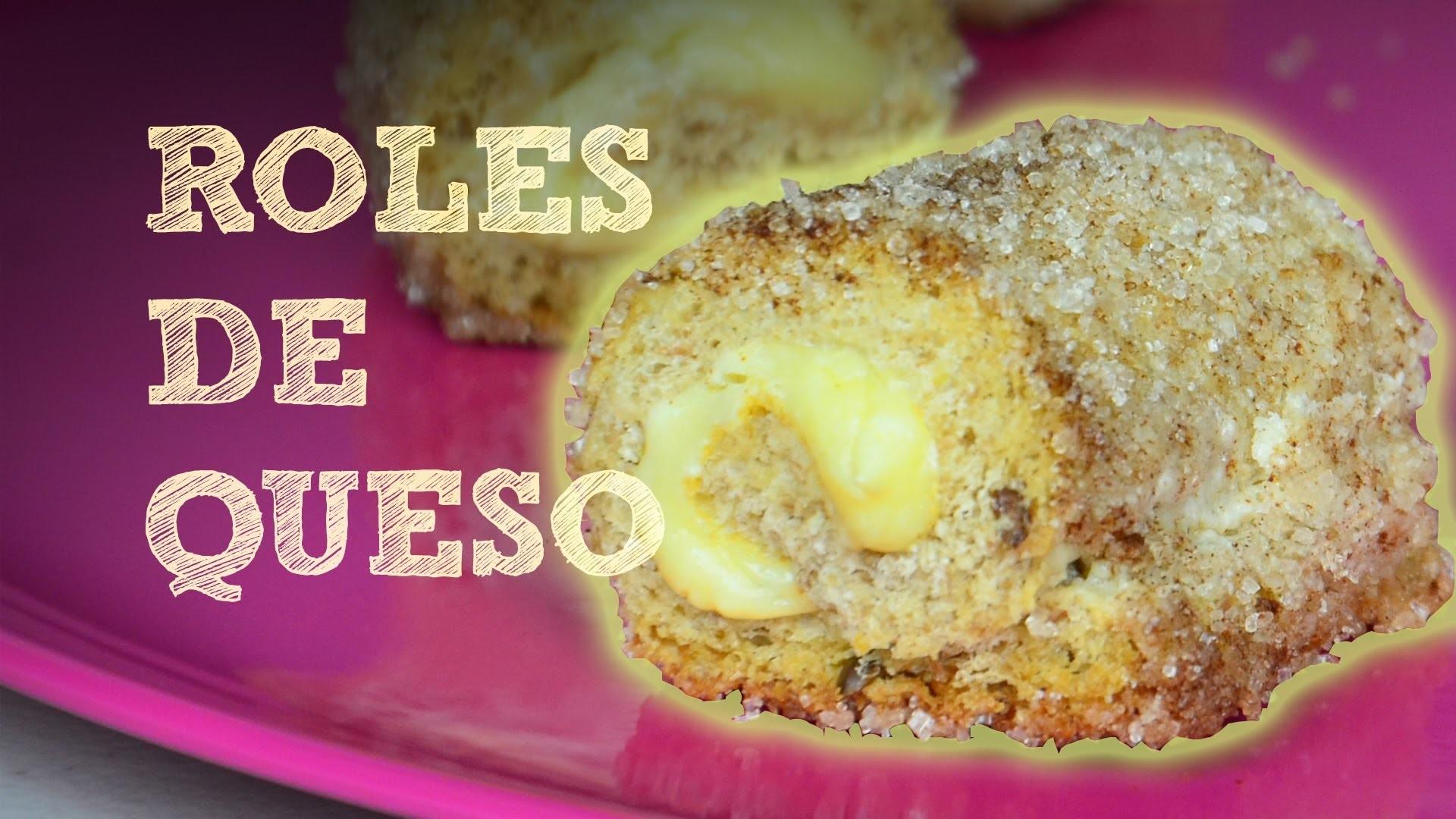 ROLES DE QUESO Y CANELA EN CASA | MUSAS