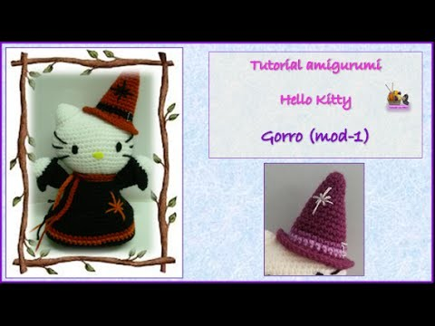 Tutorial amigurumi Hello Kitty - Gorro (mod-1)