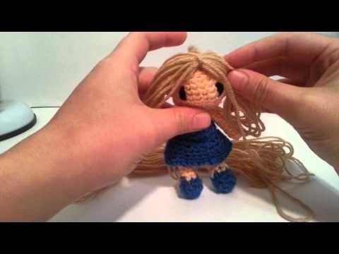 Tutorial pelo amigurumi muñeca