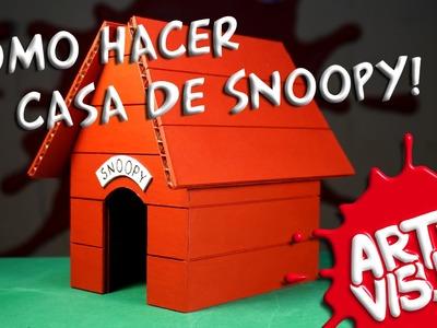 ARTE VISUAL - LA CASA DE SNOOPY