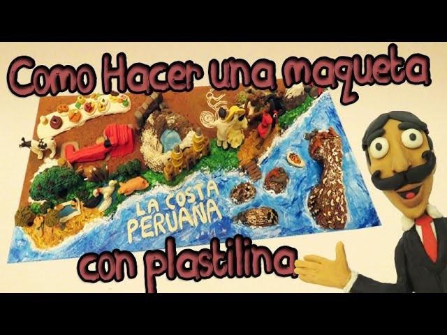 Muñecos Hechos De Papel Muestran Diversidad De Ecuador: Como Hacer Una Maqueta Con Plastilina Y Papel Maché