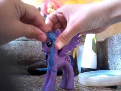 Como peinar a tus ponis y un secreto mágico