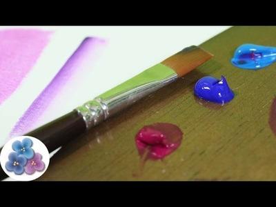 Como Pintar con Acrilicos de Tubo Pintura Acrilica Tecnica español Pintura Facil