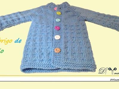 Cómo tejer abrigo o chaqueta para bebé.
