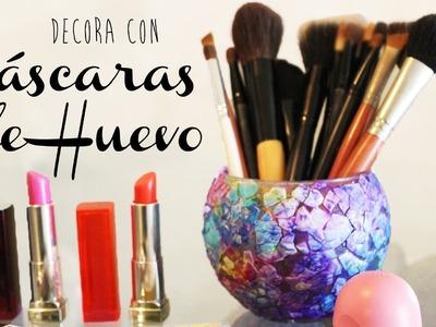 DECORA CON CASCARAS DE HUEVO