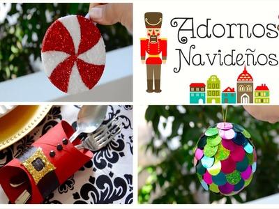 DIY Adornos Navideños