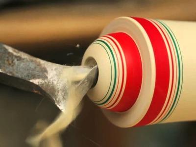 Espectacular Proceso De Creacion De Una Tradicional Muñeca Japonesa Kokeshi | ViralTotal.com