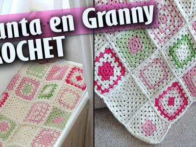 Mantas De Bebe en Granny - Tejidas a Crochet ( Diseños )