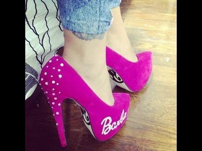 Manualidades: Decora tus zapatos de Barbie- Juancarlos960