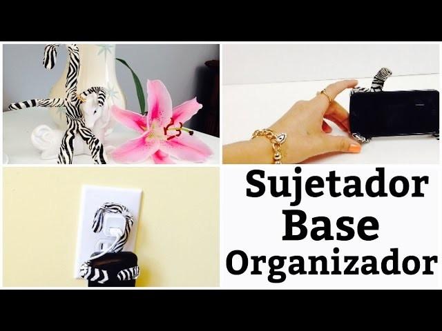 Organizador,base,sujetador multiusos.