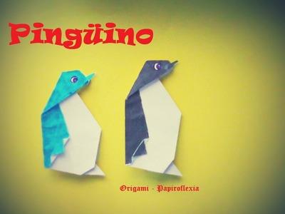 Origami - Papiroflexia, Pingüino facil.