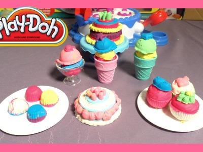 Plastilina Play-Doh Cake N Ice Cream Confections| Juguetes para Ninas